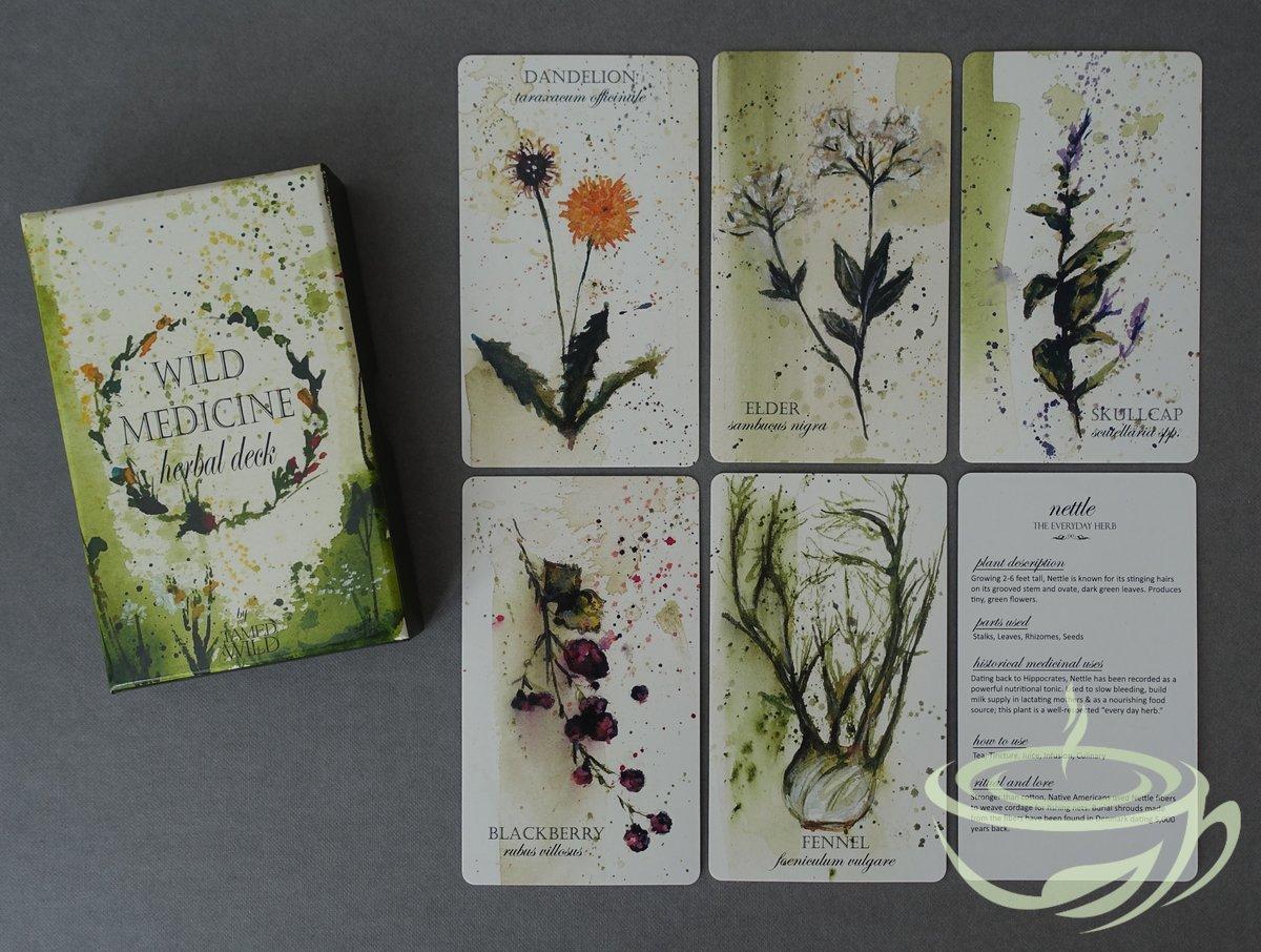 Wild Medicine Herbal deck