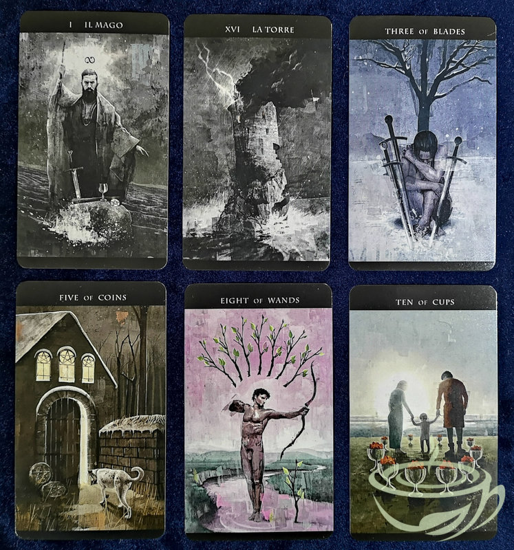 The Darkness of Light Tarot