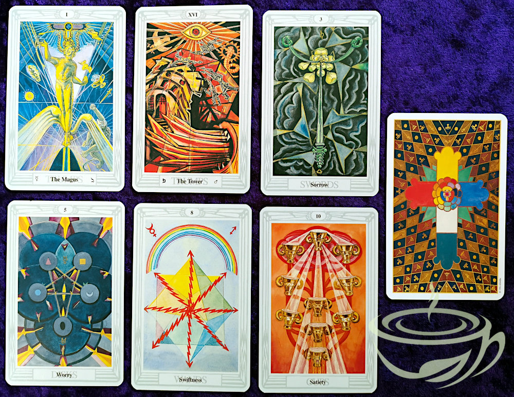 Crowley Thoth Tarot Deck