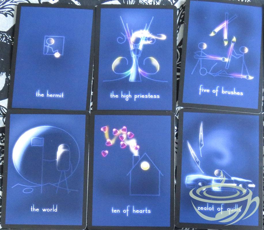 Celestial Stick People Tarot